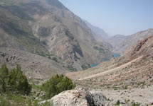 Фанские горы, Фаны горы
